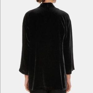 Eileen Fisher Silk Velvet Kimono
